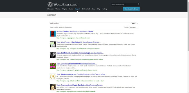 Avoid plugin conflicts with WordPress maintenance services