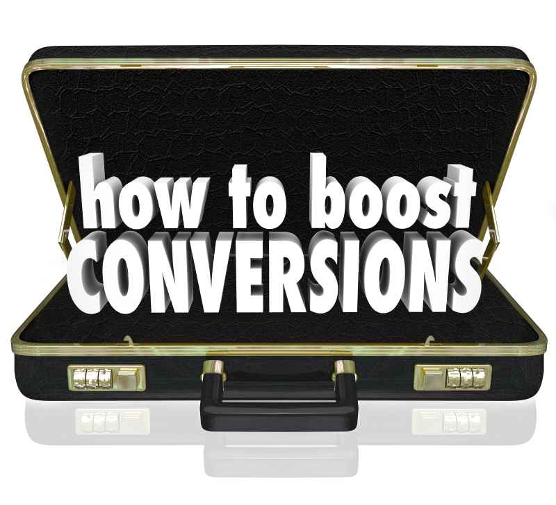 Boost conversions to increase ROI